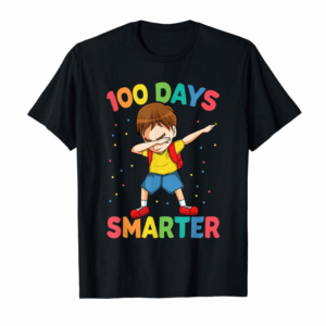 Buy Dabbing Boy 100 Day Smarter Happy 100th Day Of School Gift T-Shirt