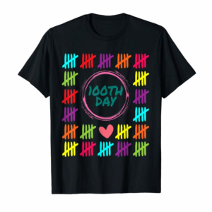 Adorable 100th Day One Hundred Days Of School Design T-Shirt
