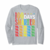 Adorable 100 Days Smarter Happy 100th Day Of School Student Teacher T-Shirt