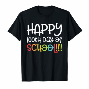Adorable Happy 100th Day Of School Shirt For Teacher Or Child