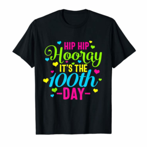 Cool 100 Days Of School Smarter 100th Teacher Principal Class Hip T-Shirt