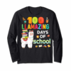 Adorable 100 Llamazing Days Of School 100th Day Llama School Class T-Shirt