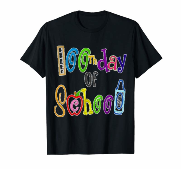 "Adorable ""100th Day Of School' T-Shirts Students And Teacher Shirt"