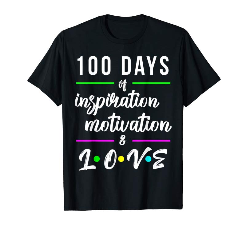Buy 100th Day Of School Design For Funny Elementary Teachers T-Shirt