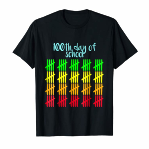 Adorable 100th Day Of School T-Shirt Happy 100th Day Of School Tee