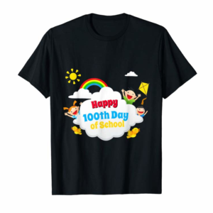 Adorable Happy 100th Day Of School T-Shirt