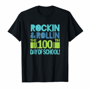Adorable 100th Day Of School T-shirt 100 Days Party Celebration