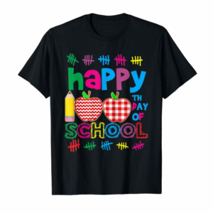 Order Happy 100Th Day Of School Tee For Teacher & Kid Shirt