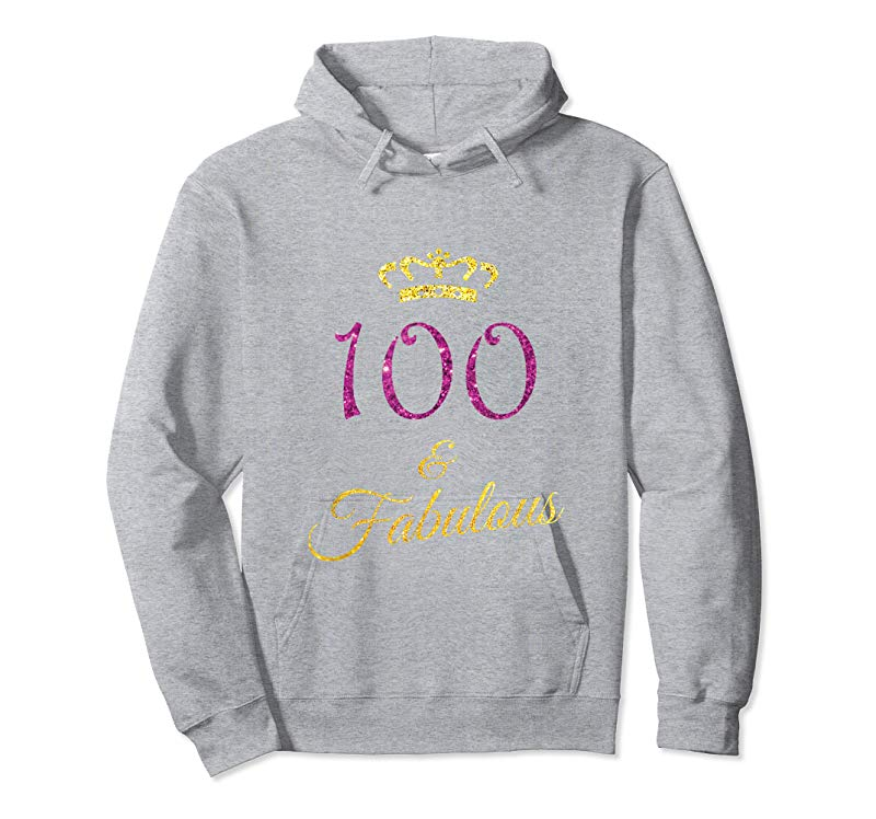 Adorable 100th Birthday Shirt Gift Women Grandma Age 100 Year Old