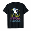 Adorable 100 Days Of Magical Learning T-shirt For 100th Day Of School