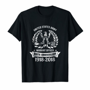 Cool United States Army Warrant Officer 100th Anniversary Tshirt