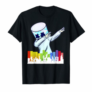Trends All I Want For Christmas Is Marshmallow Dancing DJ Love Gift T-Shirt