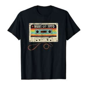 Buy Best Of 1970 Vintage 50th Birthday Funny Gift For Men Women T-Shirt