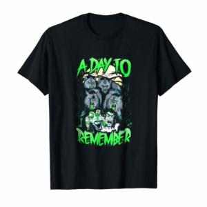 Order A Day To Remember Gift T-shirt, Art T-shirt