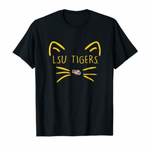 Trending LSU Tigers Cat Face - Team Name T-Shirt - Apparel