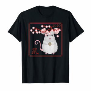 Trends Chinese New Year Of The Rat 2020-2021 The White Metal Mouse T-Shirt