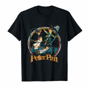 Trending Disney Peter Pan Group London Flyin Graphic T-Shirt