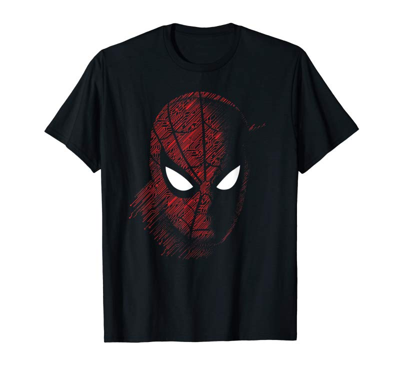 Trends Marvel Spider-Man Far From Home Close Up T-Shirt