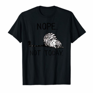 Buy Nope Not Today Cat T-Shirt