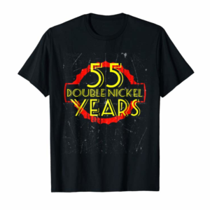 Order Now 55 Year Old Birthday Shirt Double Nickel Tee Distressed