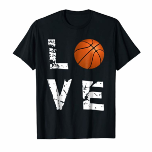 Order Now Love Basketball Funny Sports Valentine's Day T-Shirt