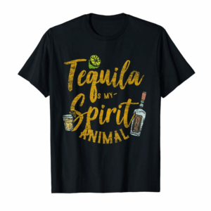 Adorable Tequila Is My Spirit Animal Cinco De Mayo Men Women Shirt