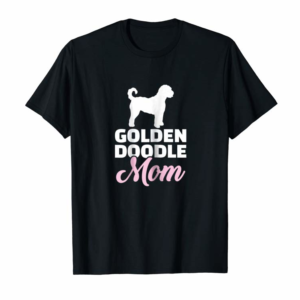 Trends Womens Goldendoodle Mom T-Shirt
