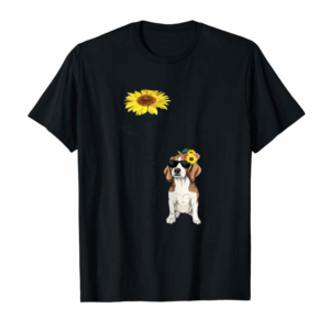 Buy Now You Are My Sunshine Beagle T Shirt, Sunflower And Dog T Shir