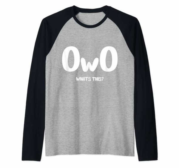 Buy OwO Shirt | What's This?
