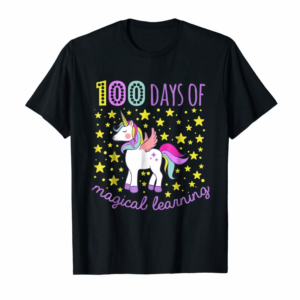 Buy Adorable 100 Days Of Magical Learning School Unicorn Shirt