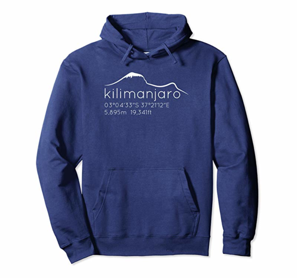 Order Kilimanjaro Graphic With Lat Long Elevation T-Shirt