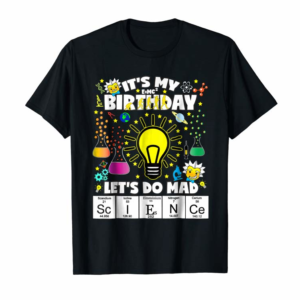 Shop Science Birthday Theme Shirt Any Age Let's Do Science Tee