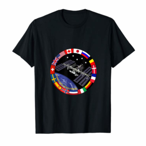 Adorable International Space Station - ISS Flag Logo T-Shirt