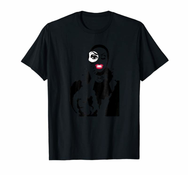 Adorable Little Edie Monsoon Drag Queen Race Graphic T-Shirt
