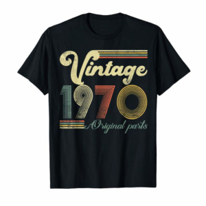 Adorable 50 Years Old - Made In 1970 - Vintage 50th Birthday T-Shirt