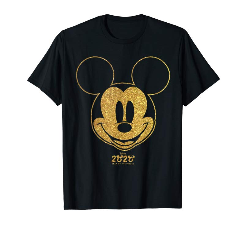 Adorable Disney Year Of The Mouse Golden Mickey January T-Shirt
