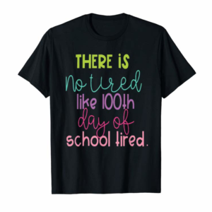 Adorable Surprise 100th Day Of School Shirt Gift For Teacher Or Child T-Shirt