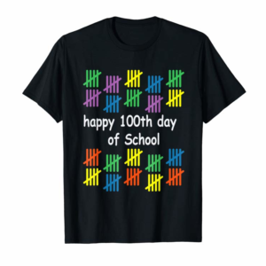 Adorable Happy 100Th Day Of School Tshirt Teacher School Kids 100 Day T-Shirt