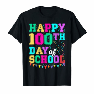 Adorable Happy 100th Day Of School Shirt For Teacher Or Kid Gift T-Shirt