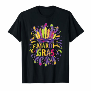 Order Mardi Gras Shirt For Women Men Kids Fat Tuesday Party Tee T-Shirt
