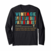 Adorable Vintage Speech Language Pathologist Definition T-Shirt