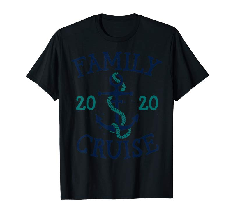 Buy Family Cruise Squad 2020 Summer Vacation Vintage Matching T-Shirt