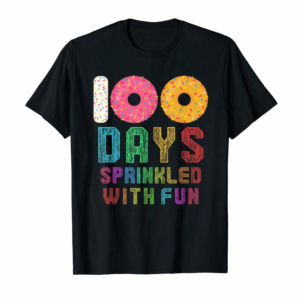 Order 100 Days Sprinkled With Fun 100th Day Of School T-Shirt