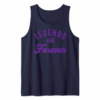 Buy Motivational Legends Are Forever Retro Graphic T-Shirt