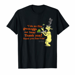 "Buy Dr. Seuss Green Eggs And Ham ""I Do So Like"" Quote T-Shirt"
