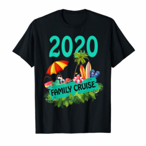Adorable Family Cruise 2020 T-Shirt