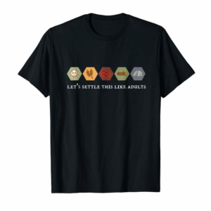 Buy Now Let's Settle This Like Adults Board Game Night Shirt
