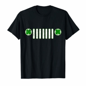 Trends Jeep Lovers Irish St Patrick's Day Party Gift Design T-Shirt