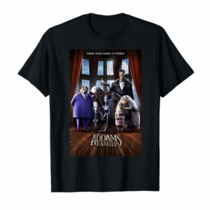 Trends Addams Family Group Shot Portrait Movie Poster T-Shirt