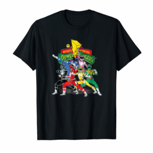 Order Vintage Power Rangers Mighty Morphin Time T-Shirt